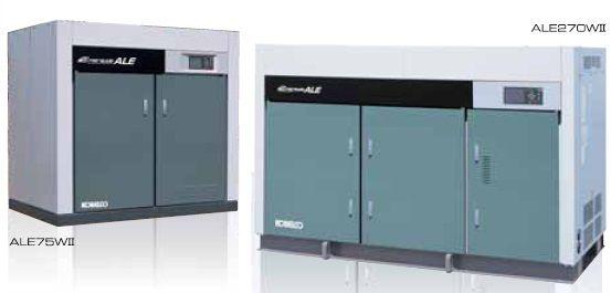 máy nén khí không dầu Kobelco dòng công suất lớn ALE