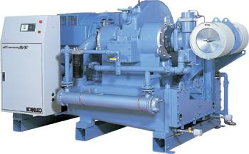 Nhãn hiệu máy nén khí không dầu Kobelco-Emeraude