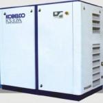 Máy nén khí trục vít có dầu Kobelco dòng KS