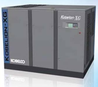 Máy nén khí trục vít có dầu Kobelco dòng XG