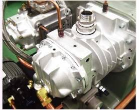 Đầu nén 2 cấp của máy nén khí không dầu Kobelco