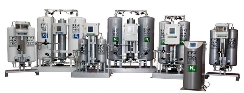 máy tạo khí oxy nitơ Inmatec