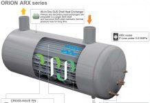 Bình trao đổi nhiệt máy sấy khí Orion