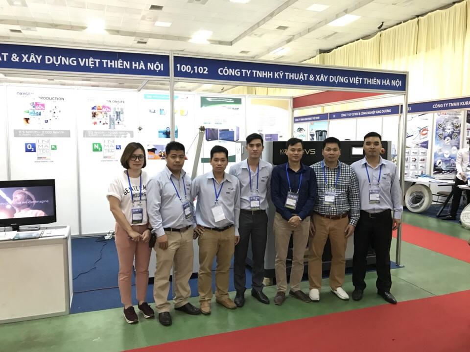 Đội ngũ công nhân viên của Việt Thiên tại chi nhánh TPHCM