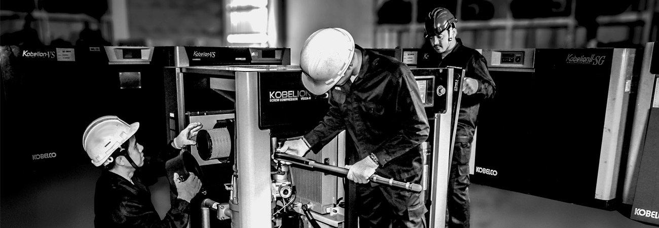 lắp đặt máy nén khí chuyên nghiệp slider