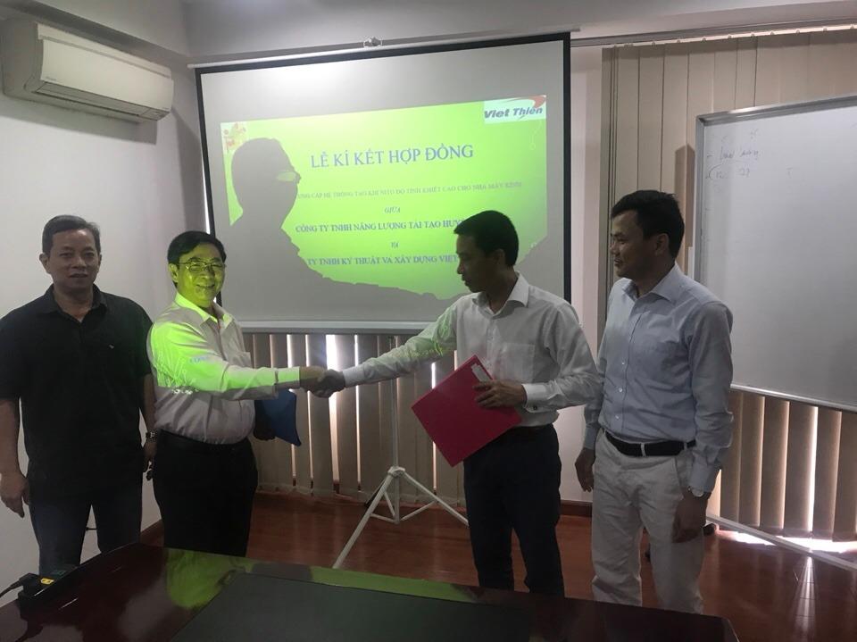 Lễ ký kết hợp đồng có giá trị lớn của Việt Thiên
