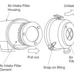 Lọc khí máy nén khí KObelco